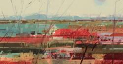 Marshlands VI, Burnham by Jane Human