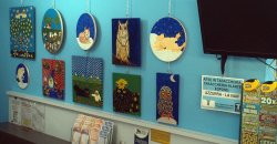 Azzurra La Naif's exhibition