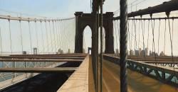 Jeff Bellerose, Rigging, 2013, oil on canvas, 29 x 42 in.