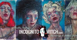 Incognito Witch Selfies by Mollie Kellogg