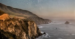"""Big Sur in the Moonlight"" Photographer: Bill Shupp"