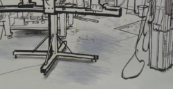 Lucinda Rogers, Drawings of Workspaces Frome & London