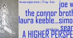 The Connor Brothers, Joe Webb Origianl art exhibition