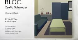 BLOC by Zsofia Schweger at Griffin Gallery