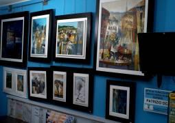 Patrizio Oca's exhibition