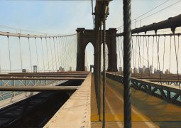 Jeff Bellerose, Rigging, 2013, oil on canvas, 29 x 42 in.