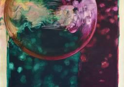 "Margaret Lazzari, ""Enhanced Diagram"", Acrylic, 60"" x 40"", 2015"