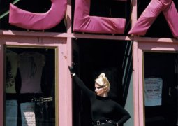Sheila Rock, 'Jordan in doorway of Sex 1977', digital print. Photograph © Sheila Rock Photography