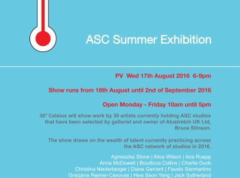 30 Celsius   ASC Summer Exhibition