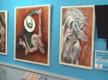 Francesca Vicentini's exhibition