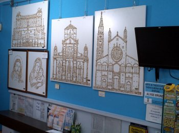 Alvise Brunzin's exhibition