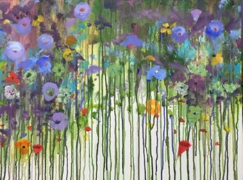 """Fields I"",Artist: Joyce Savre, Acrylic on Canvas"