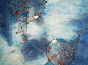 """Translation"", Artist: Nance Wheeler, Mixed Media"