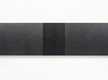 Definition Of Space   Four Center Connection, 2015-2016  Pencil on MDF panel, 60 x 240 cm