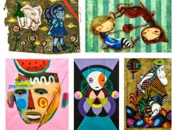 L-R (top to bottom): Tikka, Vermelho, Rodrigo Branco, Nick Alive, Gen Duarte