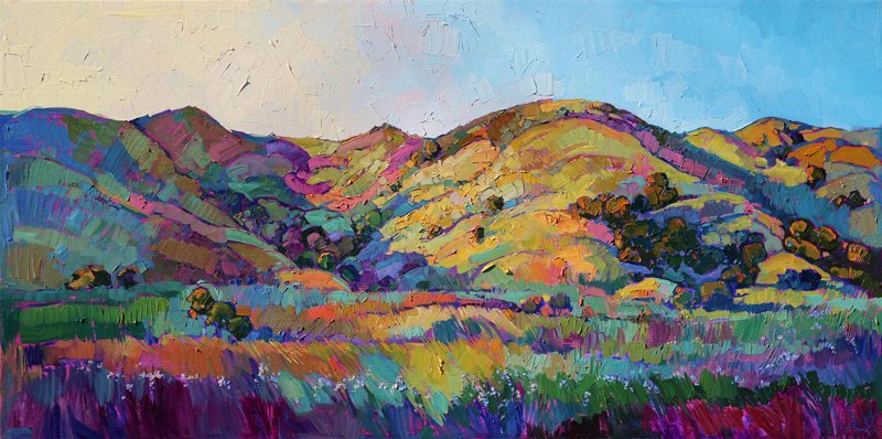 68246b9880d Wine Country in Color  Oil Paintings by Erin Hanson