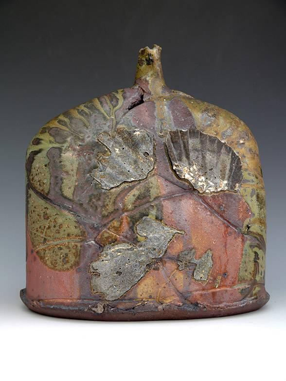 Clematis Bottle by Jane Wheeler