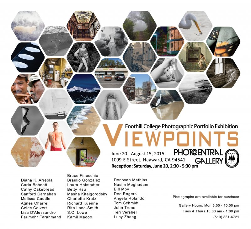 ViewPoints Photography Opening, June 20, 2:30-5:30PM