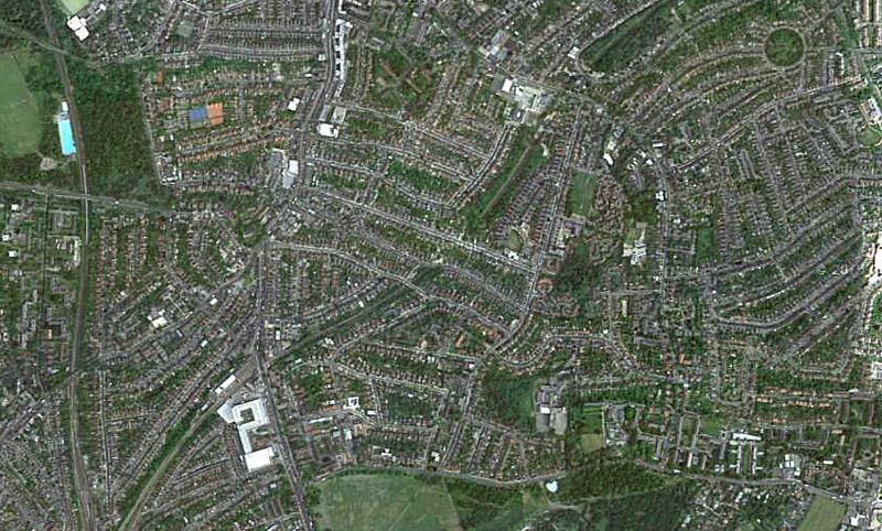 Map of Streatham