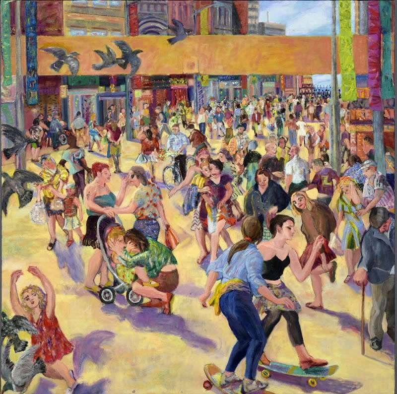 Image result for High Street paintings