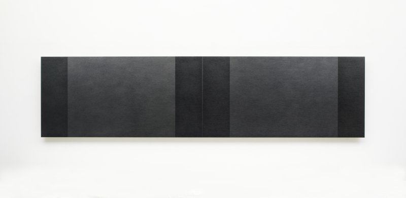 Definition Of Space | Four Center Connection, 2015-2016  Pencil on MDF panel, 60 x 240 cm