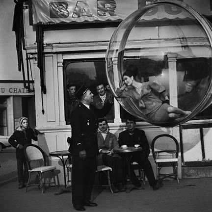 """Bar du Flick, Paris, 1963"" © Melvin Sokolsky / Staley-Wise Gallery New York"