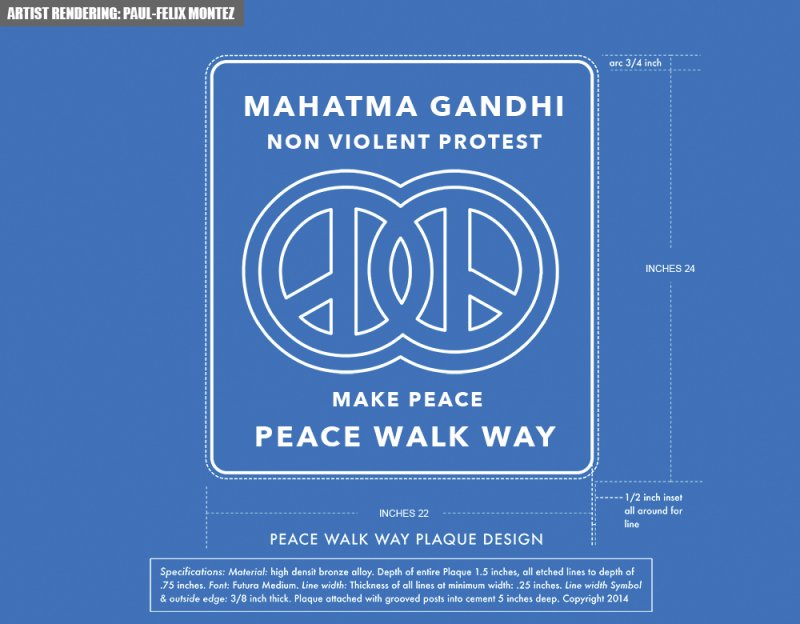"Peace Walkway World's largest global ""smart tech"" peace monumnet ever! http://peacewalkway.org"