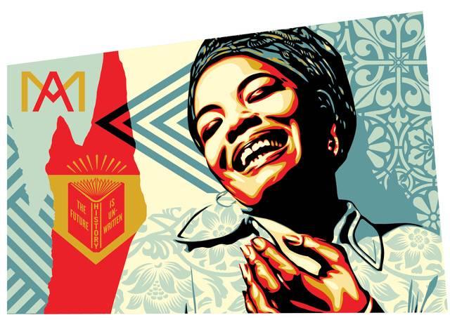 Image result for maya angelou art