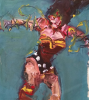 Wonder Woman Abstracted by Larry Cavaney